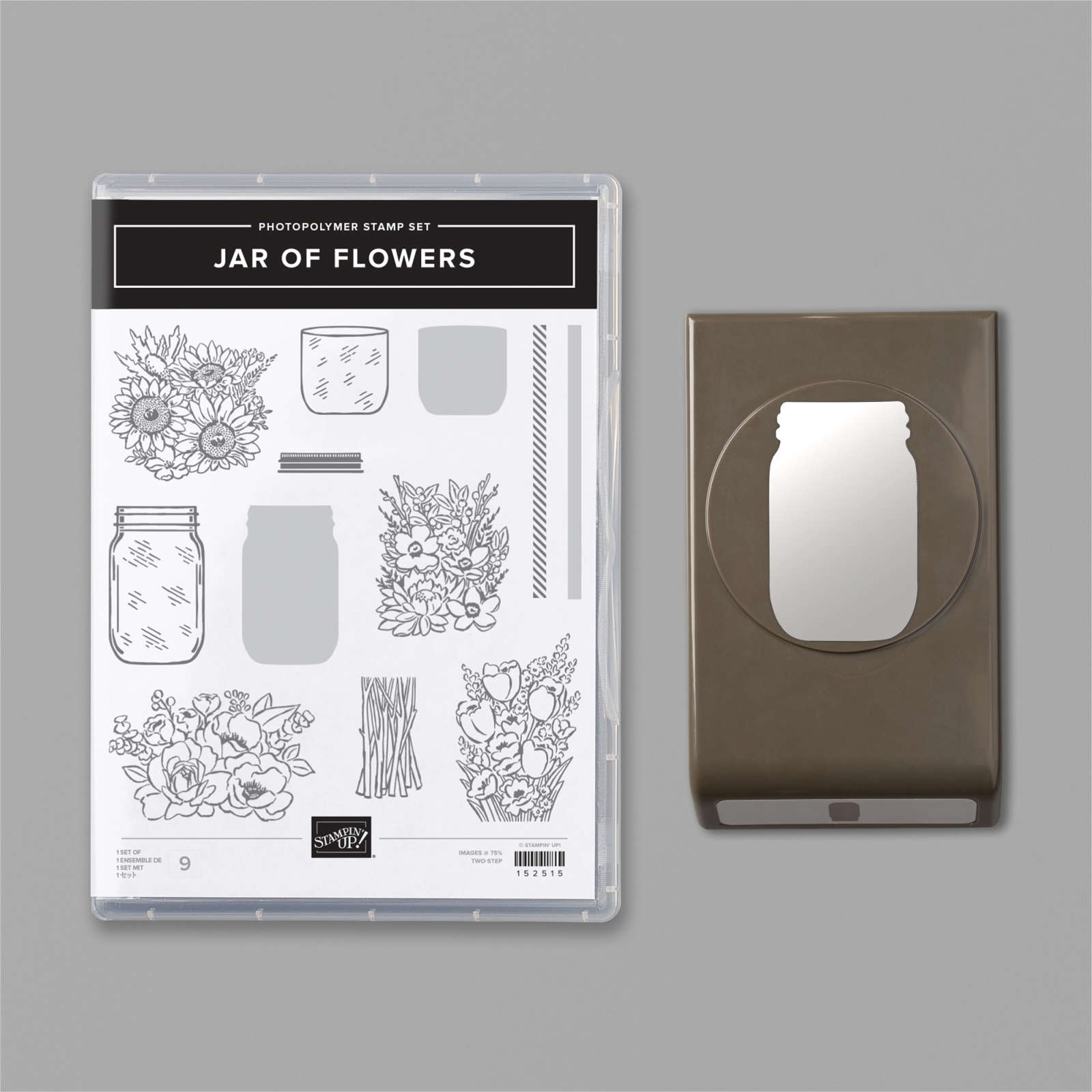 JAR OF FLOWERS BUNDLE #154064