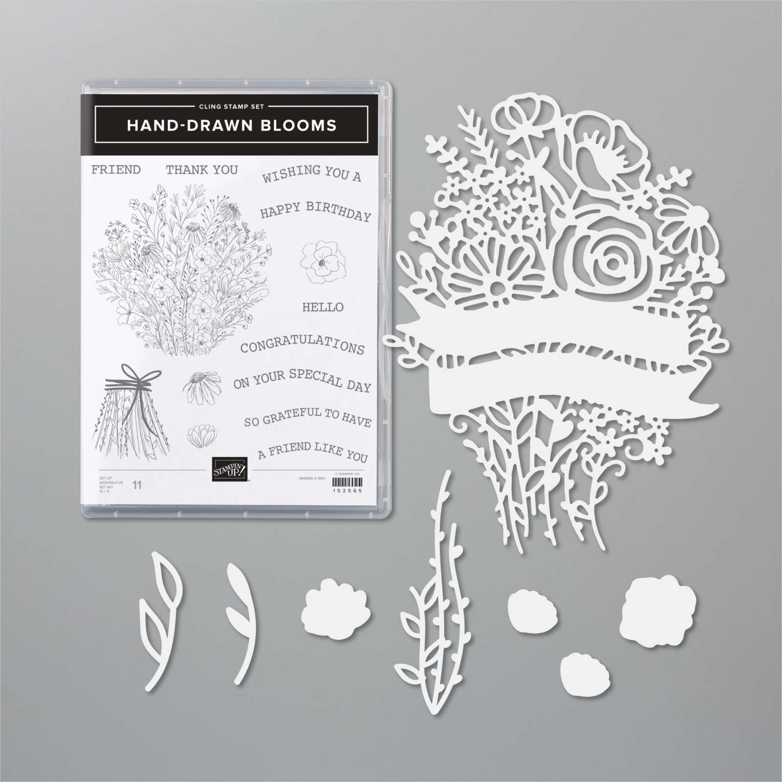 HAND-DRAWN BLOOMS BUNDLE #154101