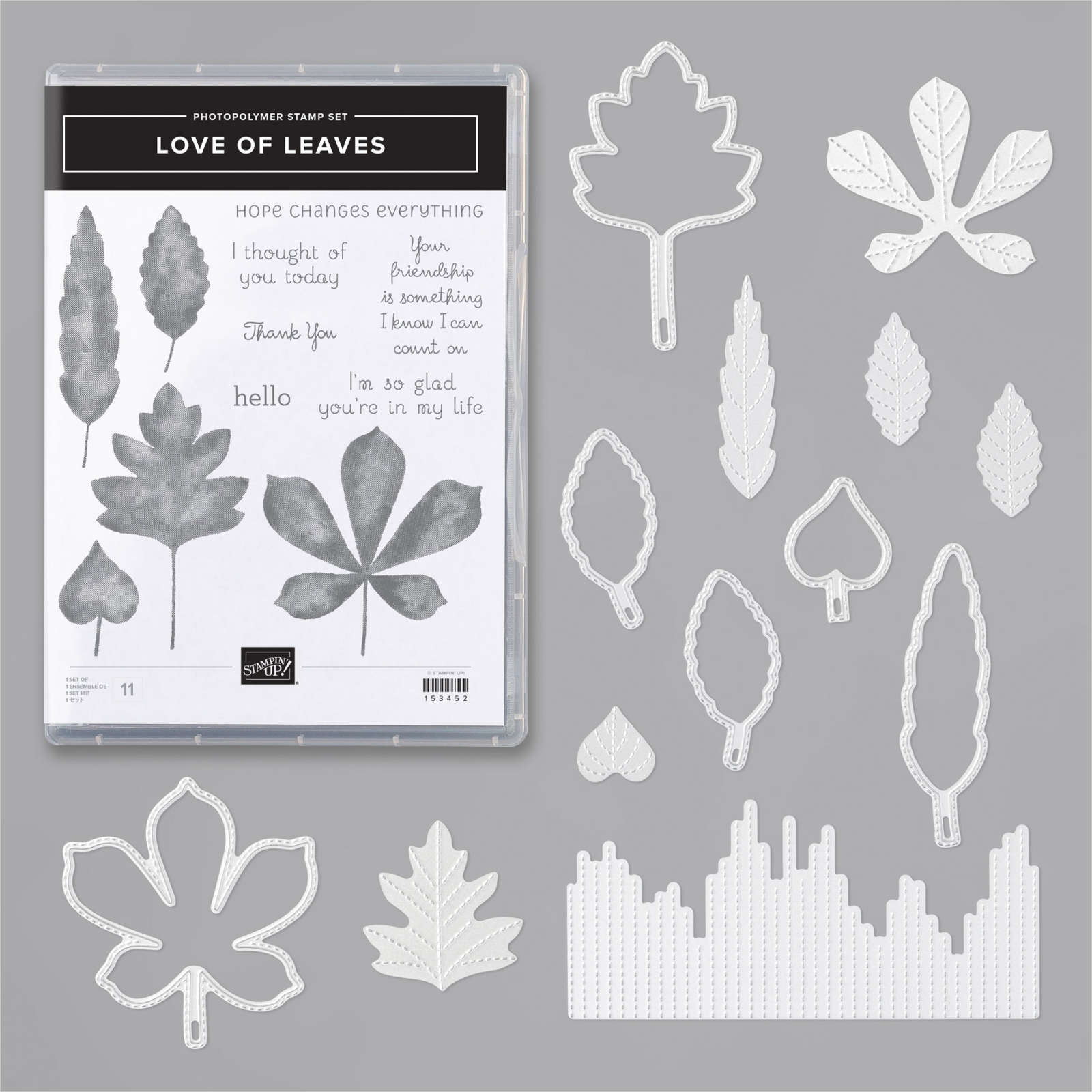 LOVE OF LEAVES BUNDLE #155195