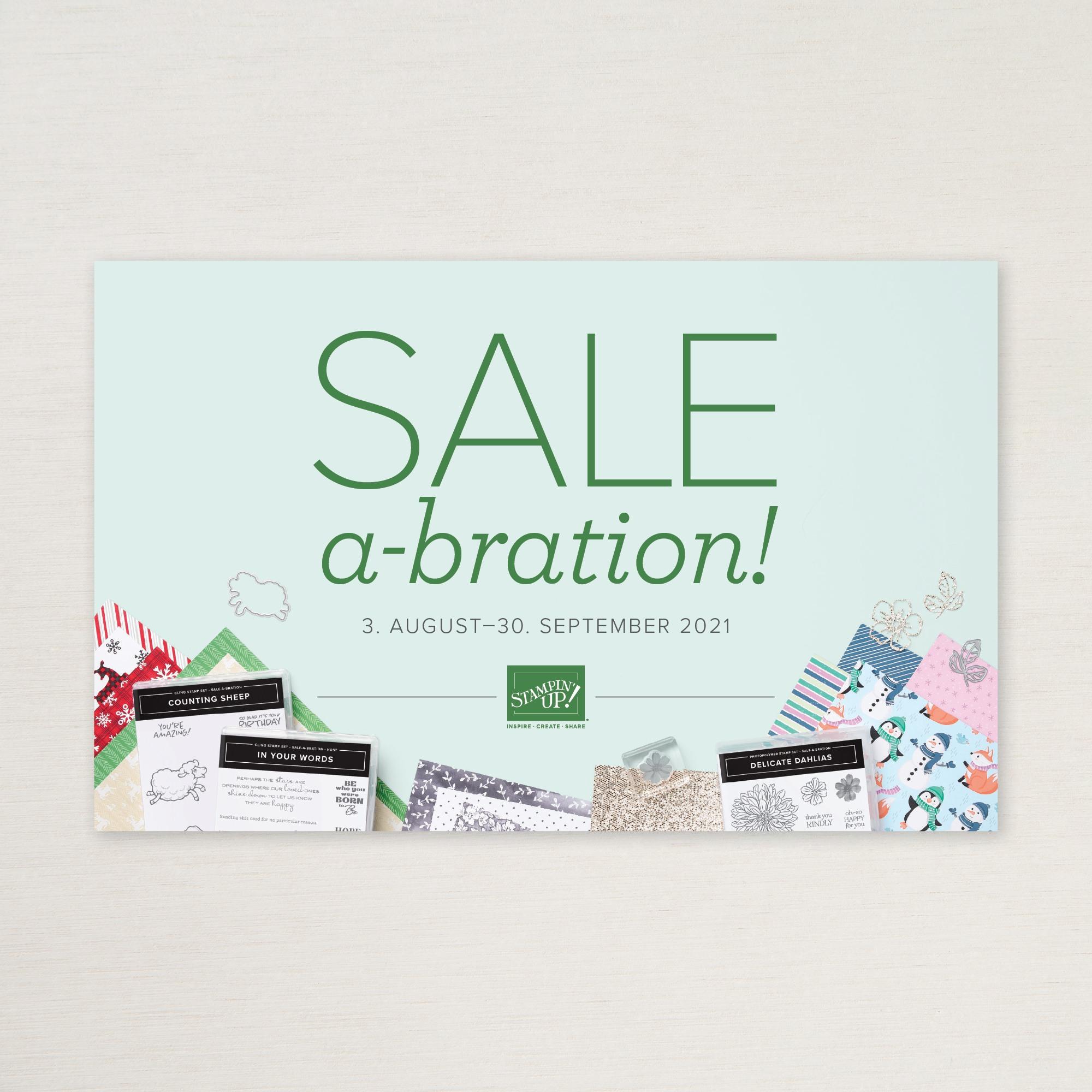 Aktionsbroschüre Sale-A-Bration 2/2021
