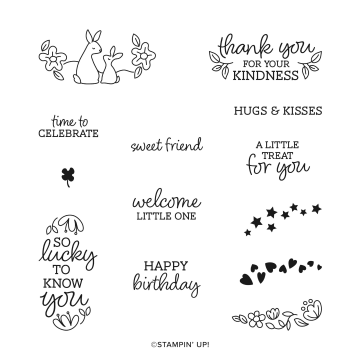 OVAL OCCASIONS CLING STAMP SET