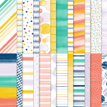 PLAYING WITH PATTERNS DESIGNER SERIES PAPER #152490