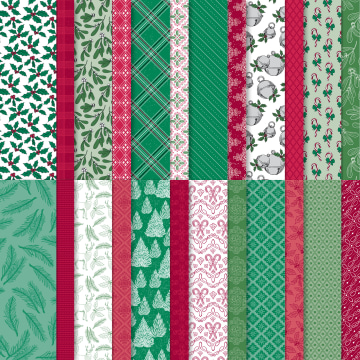 TIS THE SEASON DESIGNER SERIES PAPER #153489