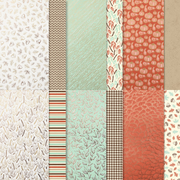 Gilded Autumn Specialty Designer Series Paper #153520