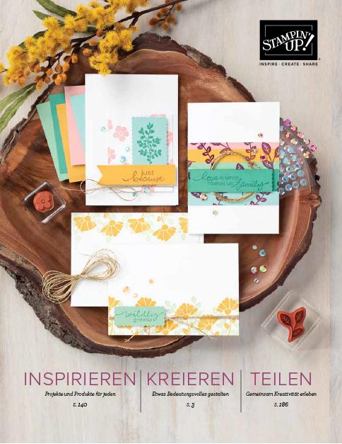 Katalog und Ideenbuch von Stampin' Up!
