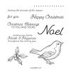 Happy Holly-days Cling Stamp Set (english)