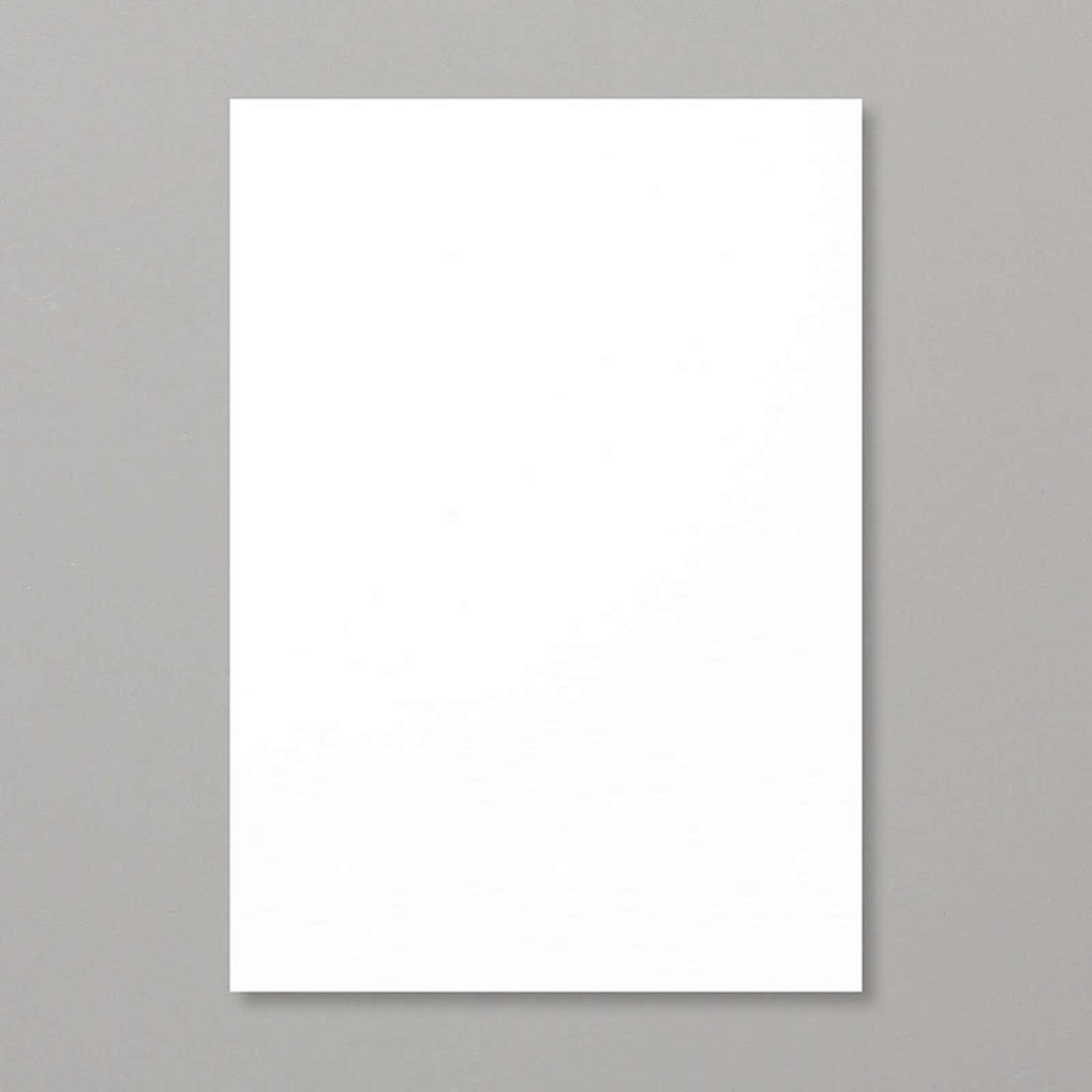 Whisper White A4 Cardstock