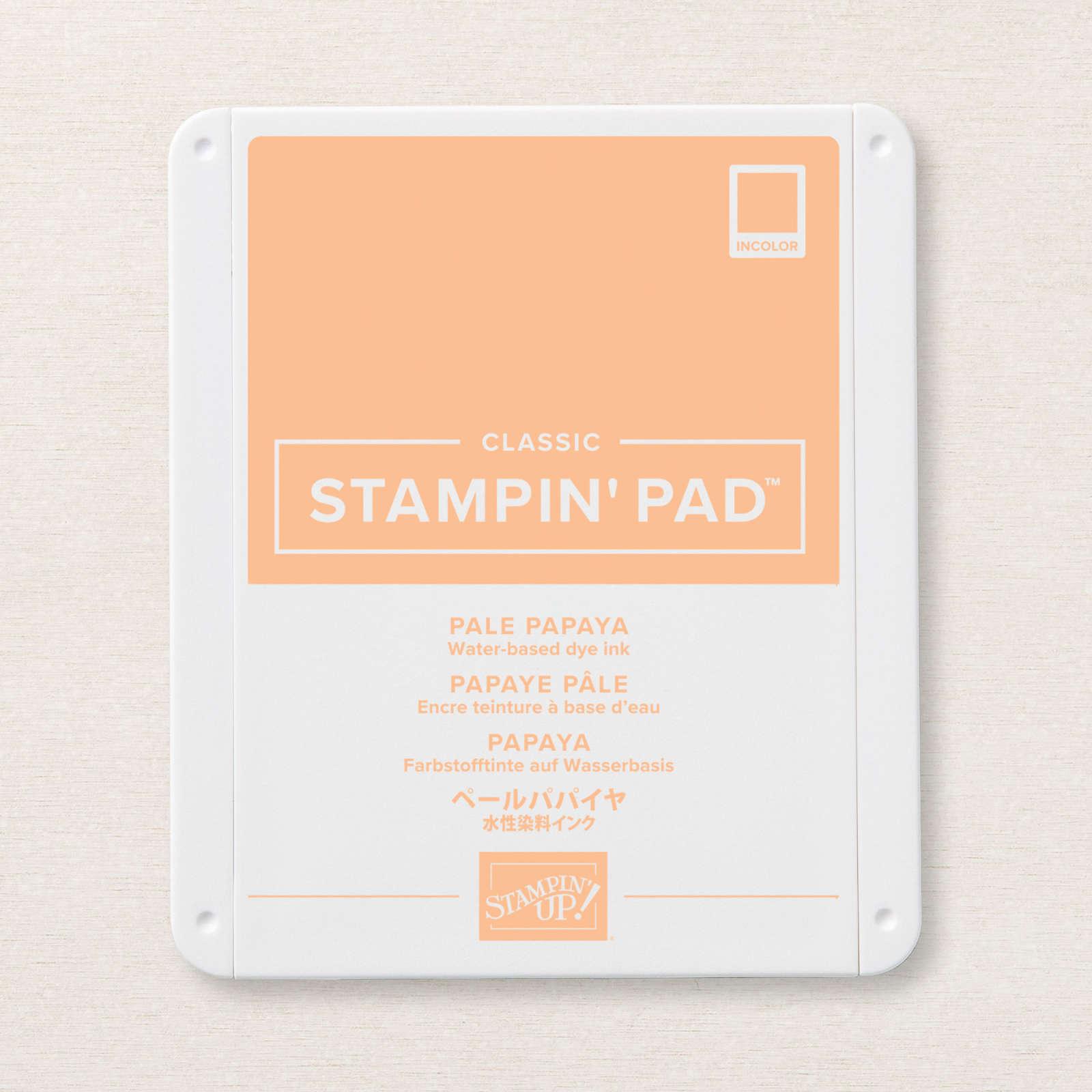 Pale Papaya Classic Stampin' Pad
