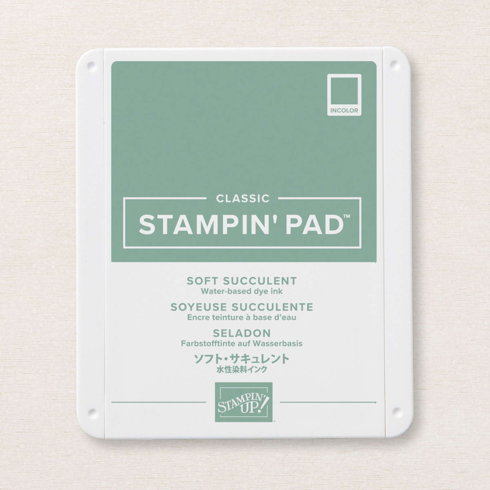 Soft Succulent Classic Stampin' Pad