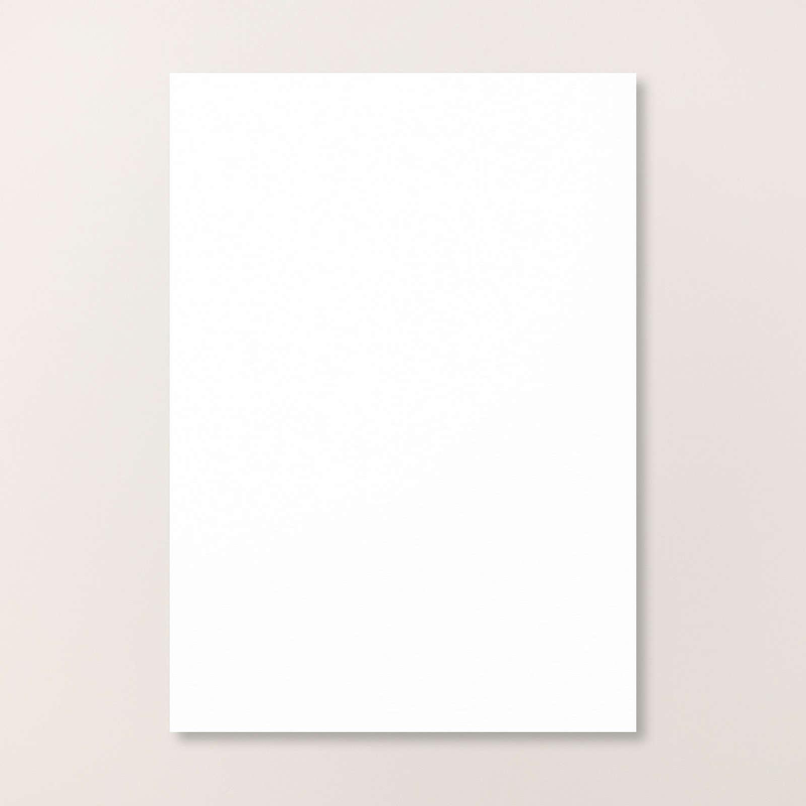 Basic White A4 Cardstock