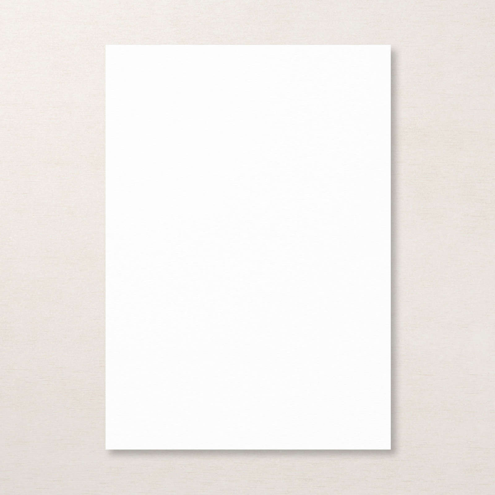 Basic White A4 Thick Cardstock