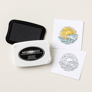 MEMENTO-INKTKUSSEN - TUXEDO BLACK