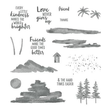 WATERFRONT PHOTOPOLYMER STAMP SET (ENGLISH)