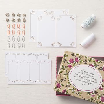 SHARE WHAT YOU LOVE EMBELLISHMENT KIT