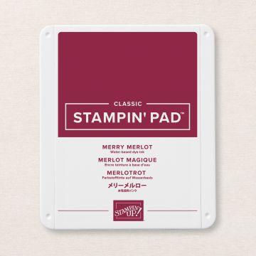 MERRY MERLOT CLASSIC STAMPIN' PAD