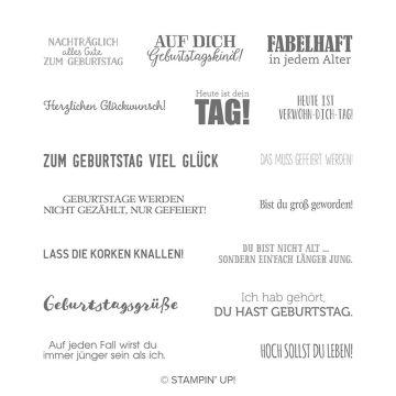 STEMPELSET ABLÖSBAR GEBURTSTAGSMIX (DEUTSCH)