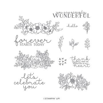 BLOOM & GROW PHOTOPOLYMER STAMP SET (ENGLISH)