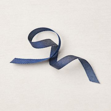 "3/8"" (1 CM) DENIM RIBBON"