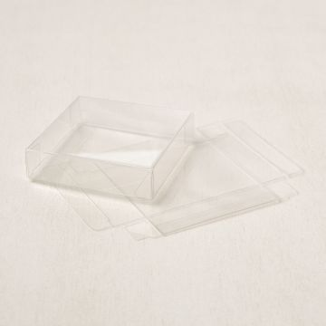 "3-1/8"" X 3-1/8"" (7.9 X 7.9 CM) ACETATE CARD BOXES"