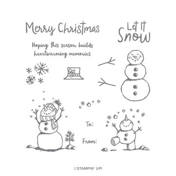 SNOWMAN SEASON PHOTOPOLYMER STAMP SET