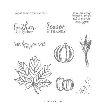 GATHER TOGETHER PHOTOPOLYMER STAMP SET