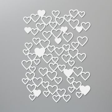 DETAILED HEARTS DIES