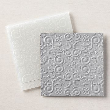 PARISIAN FLOURISH 3D EMBOSSING FOLDER