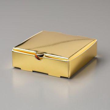 GOLD MINI PIZZA BOXES