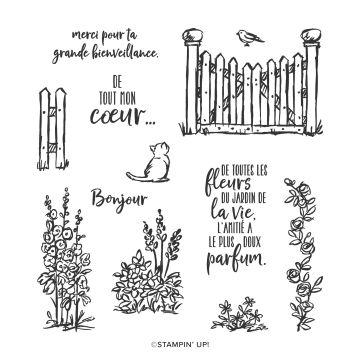 SET DE TAMPONS RÉSINE JARDIN DE GRÂCE (FRANÇAIS)