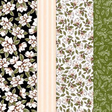 Grand paquet de papier de la série Design Allée des magnolias