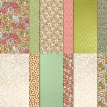ORNATE GARDEN DESIGNER SERIES PAPER