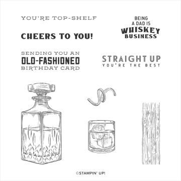 CLINGSTEMPELSET WHISKEY BUSINESS (ENGELS)
