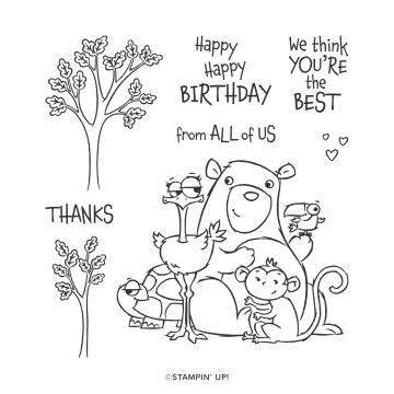 FROM ALL OF US CLING STAMP SET (ENGLISH)