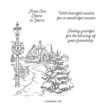 LIGHT ME HOME CLING STAMP SET