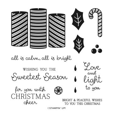 SWEETEST TIME PHOTOPOLYMER STAMP SET (ENGLISH)