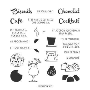 SET DE TAMPONS EN RÉSINE RIEN DE MEILLEUR (FRANÇAIS)