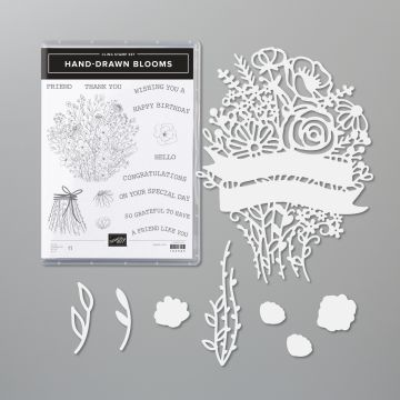 HAND-DRAWN BLOOMS-PRODUCTPAKKET (ENGELS)