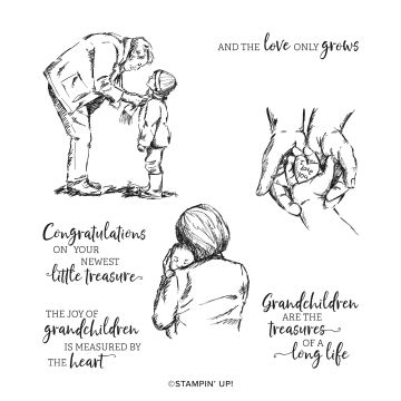 TREASURES OF LIFE CLING STAMP SET