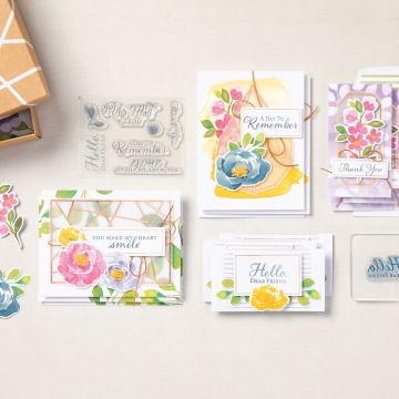 SALUTATIONS AMICALES CARD KIT (FRENCH)