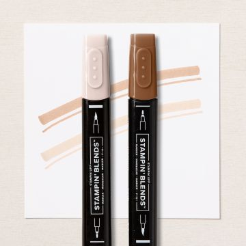 BRONZE & IVORY STAMPIN' BLENDS COMBO PACK