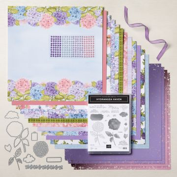 HYDRANGEA HILL SUITE COLLECTION (ENGLISH)