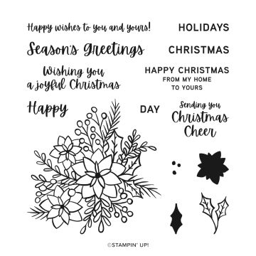 WORDS OF CHEER PHOTOPOLYMER STAMP SET