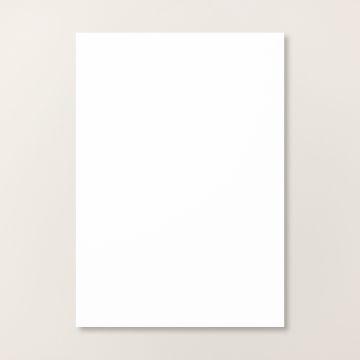 KAARTKARTON A4 - BASIC WHITE