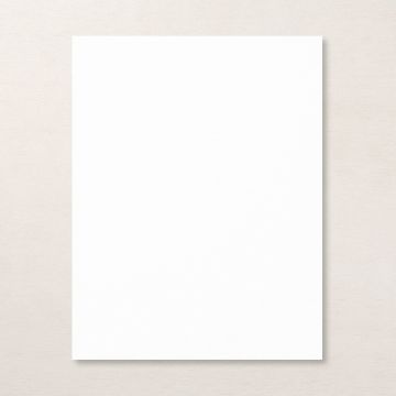 "BASIC WHITE 8-1/2"" X 11"" THICK CARDSTOCK"