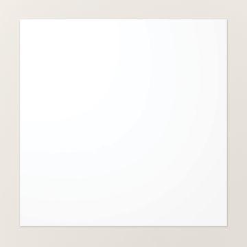 """PAPIER CARTONNÉ 12"""" X 12"""" (30,5 X 30,5 CM) BLANC SIMPLE"""
