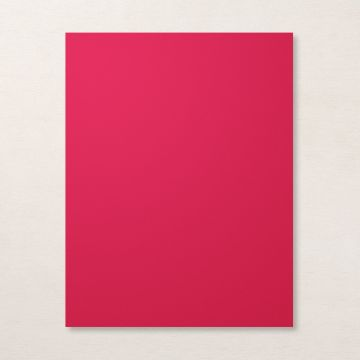 "REAL RED 8-1/2"" X 11"" CARDSTOCK"