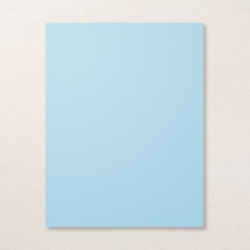 "BALMY BLUE 8-1/2"" X 11"" CARDSTOCK"