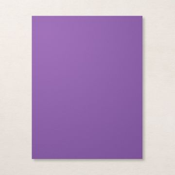 "GORGEOUS GRAPE 8-1/2"" X 11"" CARDSTOCK"