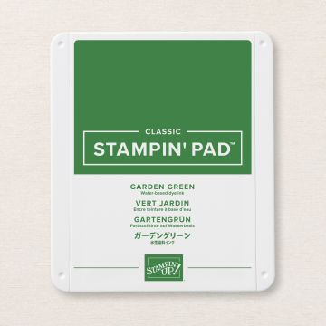GARDEN GREEN CLASSIC STAMPIN' PAD