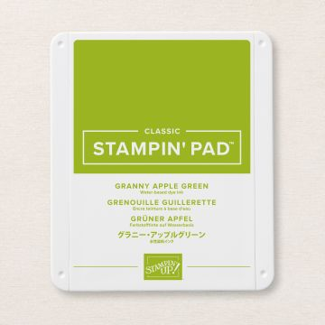 GRANNY APPLE GREEN CLASSIC STAMPIN' PAD